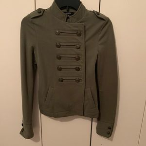 Express military jacket size xxs green